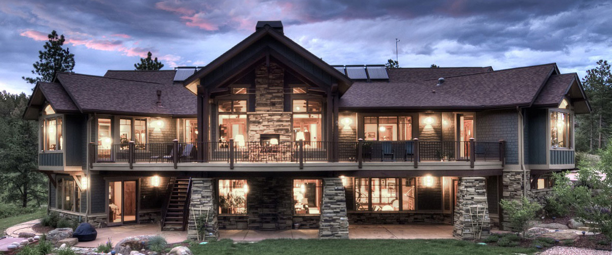 Home grand lake colorado homes for Mountain home designs colorado